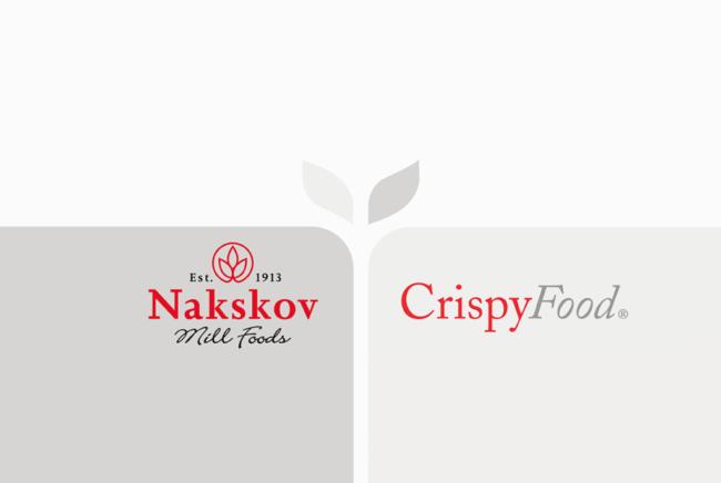 Crispy food - visuel identitet