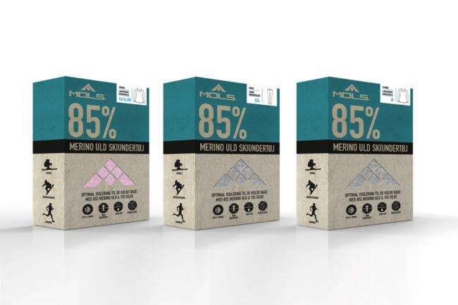 Sportsgroupdenmark - Emballagedesign
