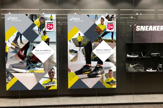 Sport 24/Acics - kampagne