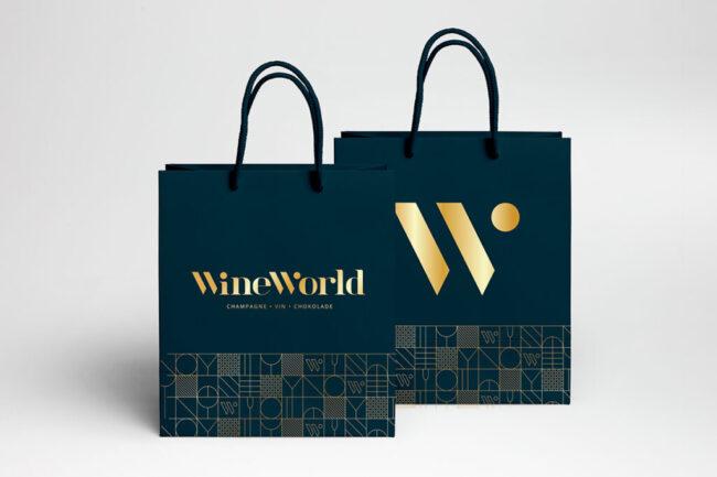 WineWorld - Visuel identitet